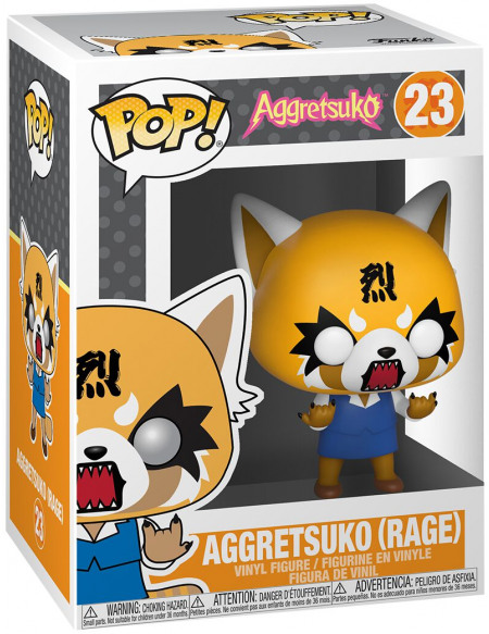 Aggretsuko Aggretsuko (En Colère) - Funko Pop! n°23 Figurine de collection Standard