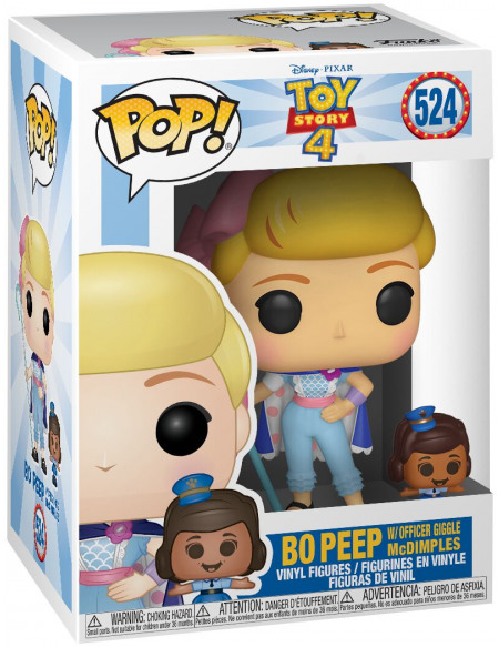 Figurine Funko Pop Disney Toy Story 4 Bo Peep & Officer McDimples