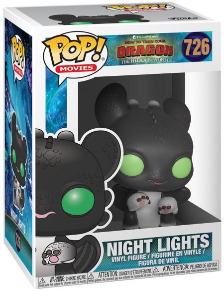 Dragons Dragons 3 - Night Light 1 - Funko Pop! n°726 Figurine de collection Standard