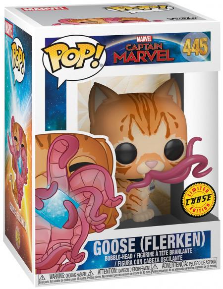 Figurine Funko Pop Captain Marvel Chat Goose Flerken Modèle aléatoire