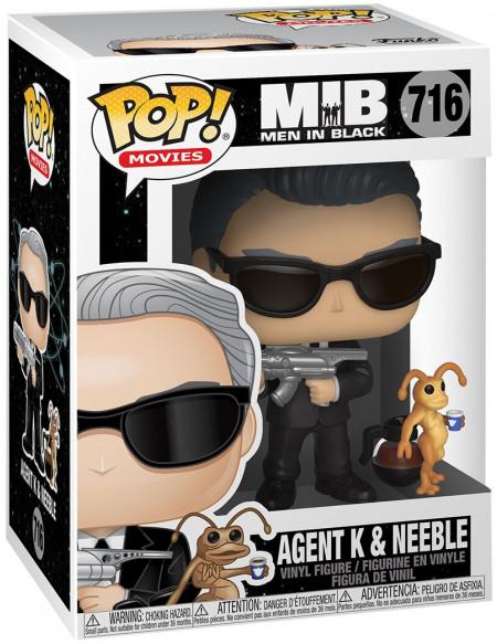 Men in Black Agent K et Neeble - Funko Pop! n°716 Figurine de collection Standard