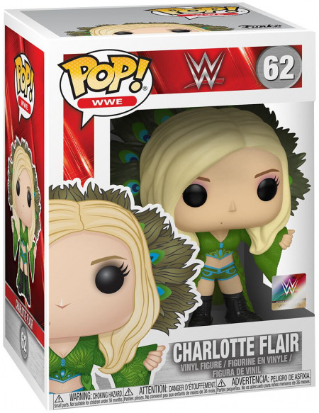 WWE Charlotte Flair - Funko Pop! n°62 Figurine de collection Standard