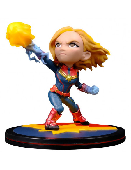 Captain Marvel Q-Figur (Diorama) Figurine de collection Standard