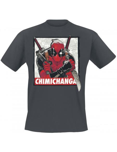 Deadpool Chimichanga T-shirt gris