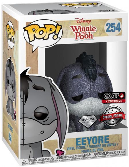 Winnie l'Ourson Bourriquet (Éd. Diamond - Chase Possible) - Funko Pop! n°254 Figurine de collection Standard