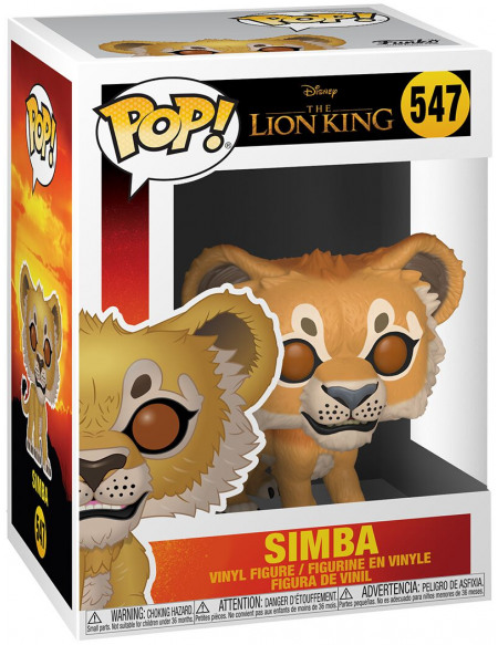 Figurine Funko Pop Disney Le Roi lion Live Action Simba