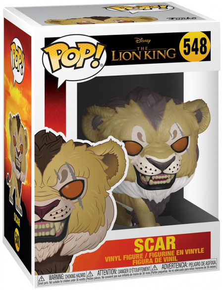 Figurine Funko Pop Disney Le Roi lion Live Action Scar