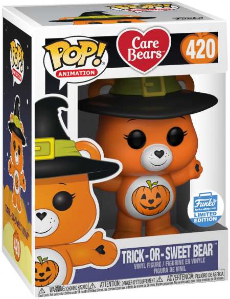 Care Bears Bisounours Halloween (Funko Shop Europe) - Funko Pop! n°420 Figurine de collection Standard