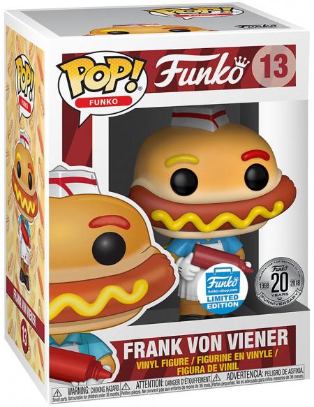 Funko Spastik Plastik - Frank Von Viener (Funko Shop Europe) - Funko Pop! n°13 Figurine de collection Standard