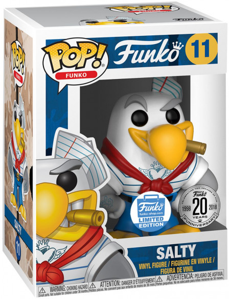 Funko Spastik Plastik - Salty (Funko Shop Europe) - Funko Pop! n°11 Figurine de collection Standard