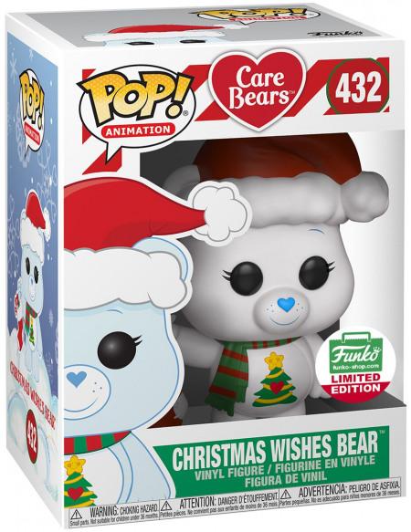 Care Bears Bisounours Vœux De Noël (Funko Shop Europe) - Funko Pop! n°432 Figurine de collection Standard