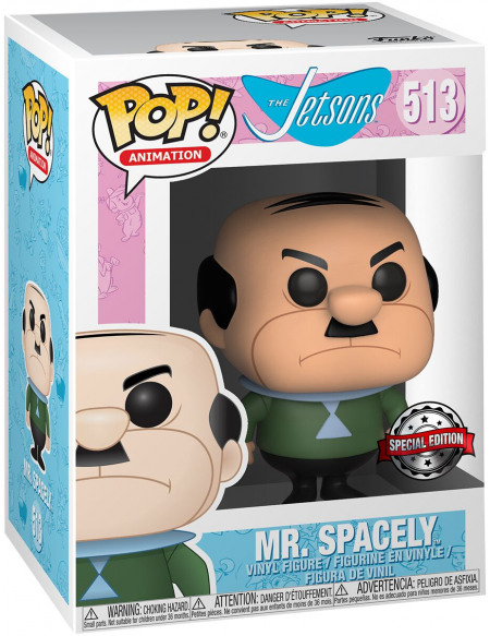 The Jetsons Les Jetson - M. Spacely (Funko Shop Europe) - Funko Pop! n°513 Figurine de collection Standard