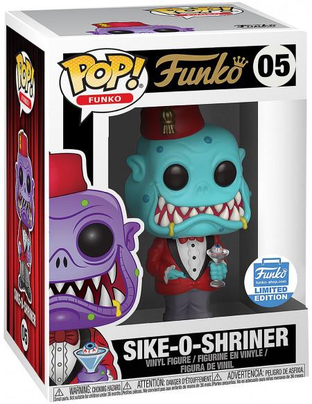 Funko Spastik Plastik - Sike-O-Shrinner (Funko Shop Europe) - Funko Pop! n°05 Figurine de collection Standard