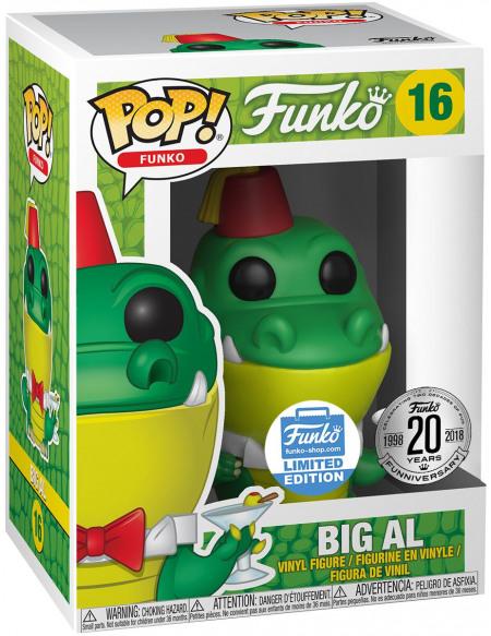 Funko Spastik Plastik - Big Al (Funko Shop Europe) - Funko Pop! n°16 Figurine de collection Standard