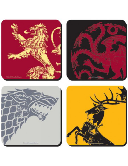 Game Of Thrones Crest Dessous de verre standard