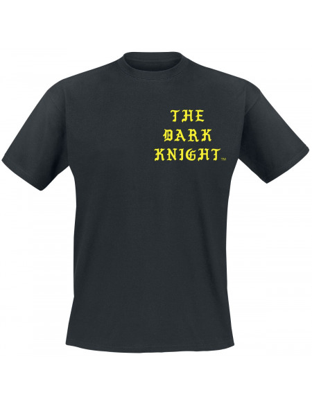Batman Old English T-shirt noir