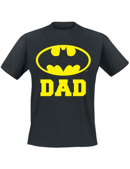 Batman Bat Dad T-shirt noir