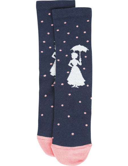 Mary Poppins Practically Perfect In Every Way Chaussettes multicolore
