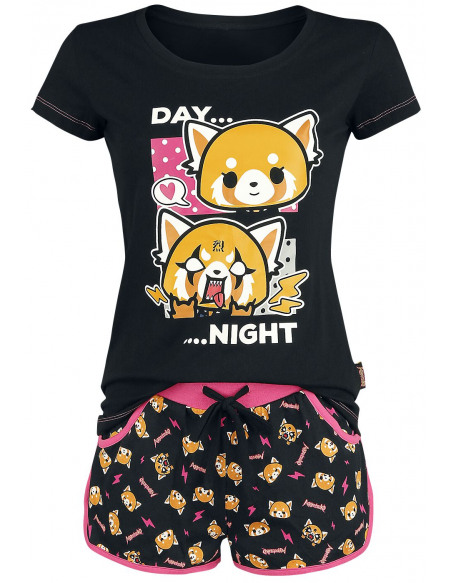 Aggretsuko Day Night Pyjama multicolore