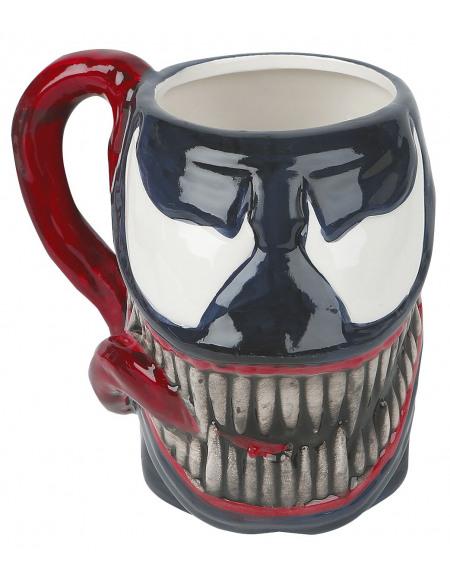 Venom (Marvel) Venom (Marvel) - Tête - Tasse 3D Mug multicolore