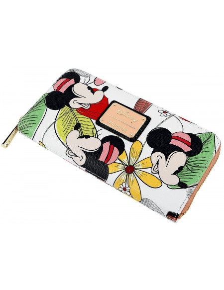 Mickey & Minnie Mouse Loungefly - Minni Portefeuille multicolore