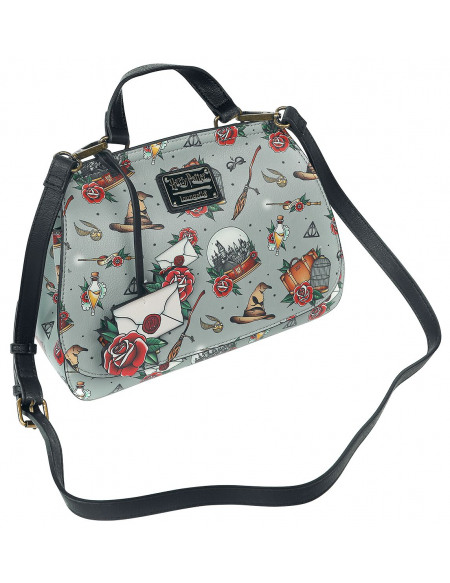Harry Potter Loungefly - All Over Sac à Main multicolore