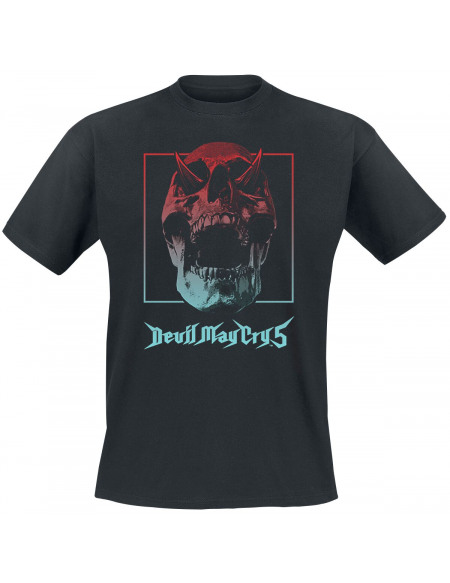 Devil May Cry Devil May Cry 5 - Crâne Dégradé T-shirt noir
