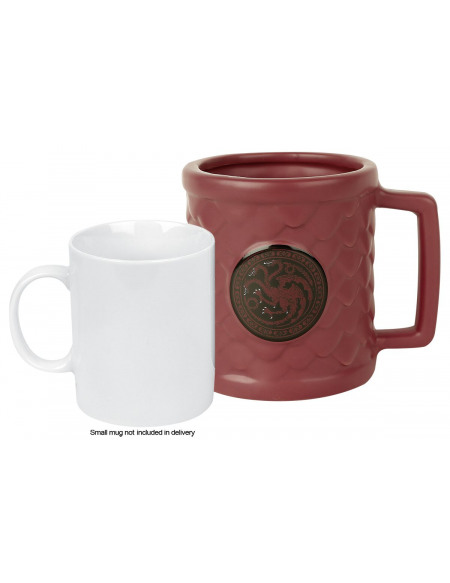 Game Of Thrones Mug 3D - Maison Targaryen Mug rouge