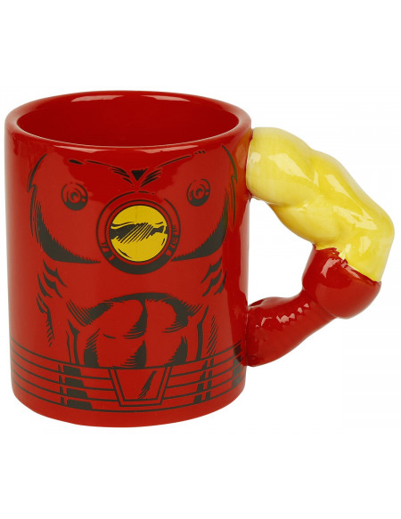 Iron Man Mug Iron Man - Bras 3D Mug multicolore