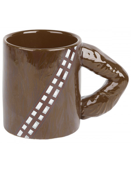 Star Wars Mug 3D - Bras Chewbacca Mug multicolore