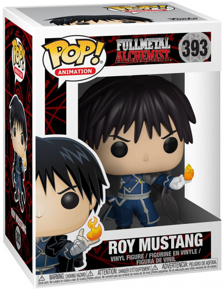 Fullmetal Alchemist Roy Mustang - Funko Pop! n°393 Figurine de collection Standard
