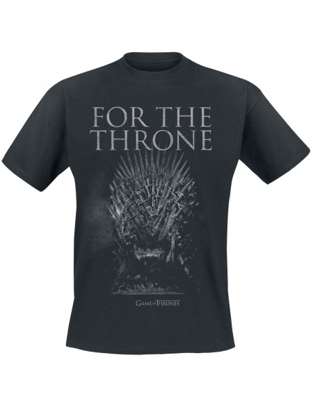 Game Of Thrones For The Throne T-shirt noir