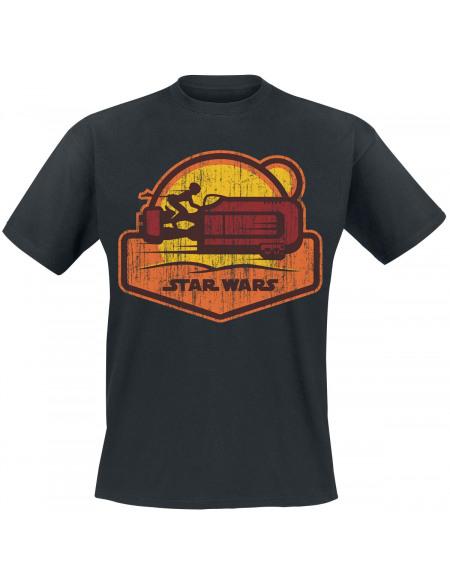 Star Wars Épisode 7 - Le Réveil De La Force - Speeder T-shirt noir
