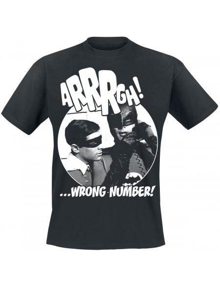 Batman Arrrgh - Wrong Number T-shirt noir