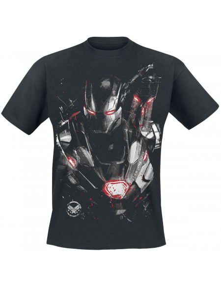 Avengers Endgame - War Machine - Logo T-shirt noir
