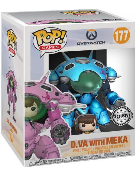 Overwatch D.VA Avec Méca (Oversize) - Funko Pop! n°177 Figurine de collection Standard