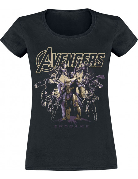 Avengers Endgame - Ready To Fight T-shirt Femme noir