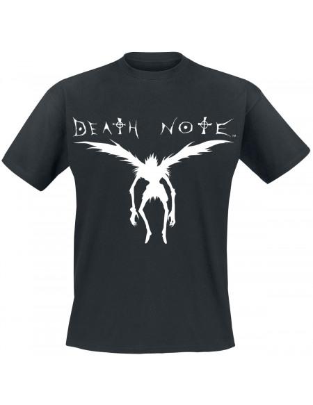 Death Note Silhouette De Ryuk T-shirt noir
