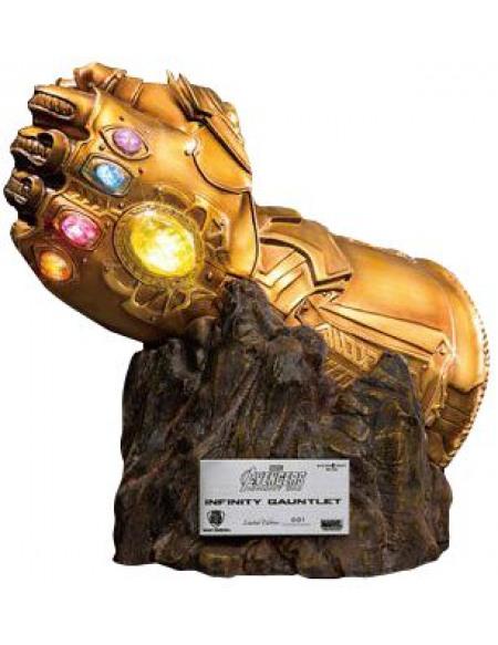 Avengers Gant De L'Infini De Thanos Statuette Standard