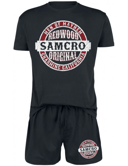 Sons Of Anarchy Samcro Original Pyjama noir