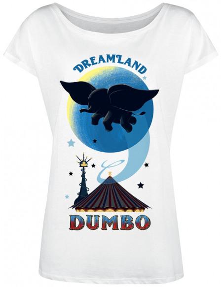 Dumbo Dreamland T-shirt Femme blanc