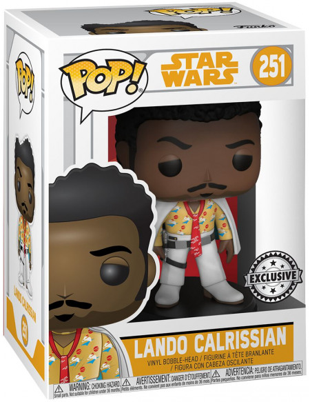 Star Wars Lando Calrissian - Funko Pop! n°251 Figurine de collection Standard