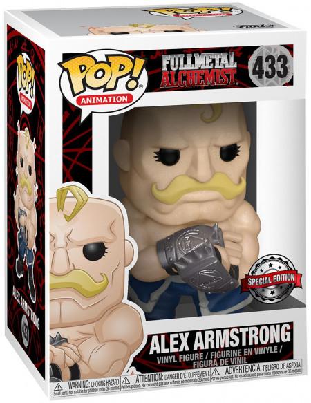 Fullmetal Alchemist Alex Armstrong - Funko Pop! n°433 Figurine de collection Standard