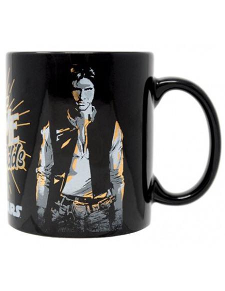 Star Wars Never Tell Me Odds - Metallic Mug Mug noir