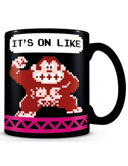 Super Mario Donkey Kong - It's on Like Mug noir
