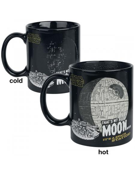 Star Wars That's No Moon - Mug Thermo-Réactif Mug multicolore