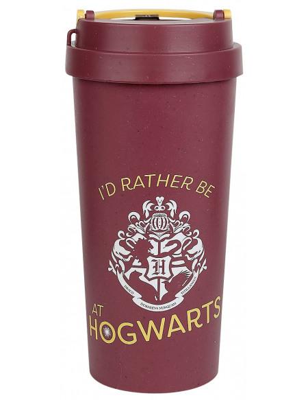 Harry Potter Rather be at Hogwarts Mug isotherme rouge/jaune