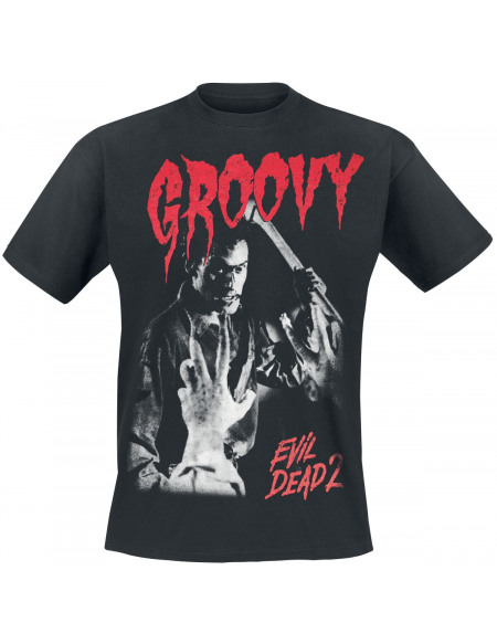 Evil Dead Evil Dead 2 - Ash - Groovy T-shirt noir