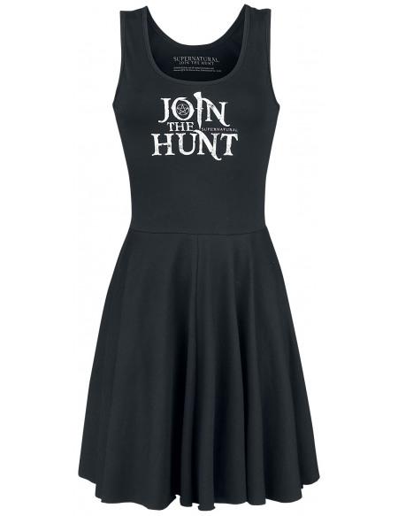 Supernatural Hunter Reversible Robe noir