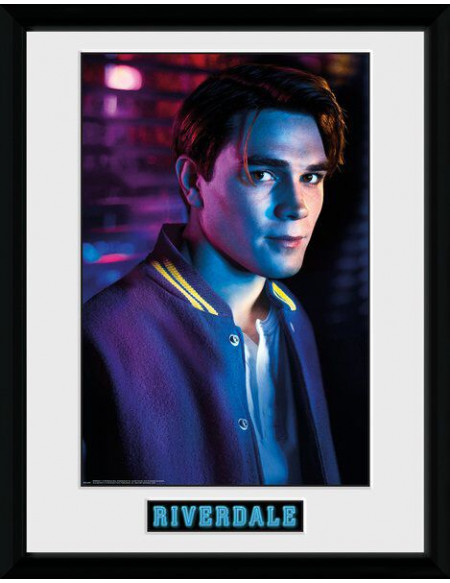 Riverdale Archie Photo encadrée multicolore